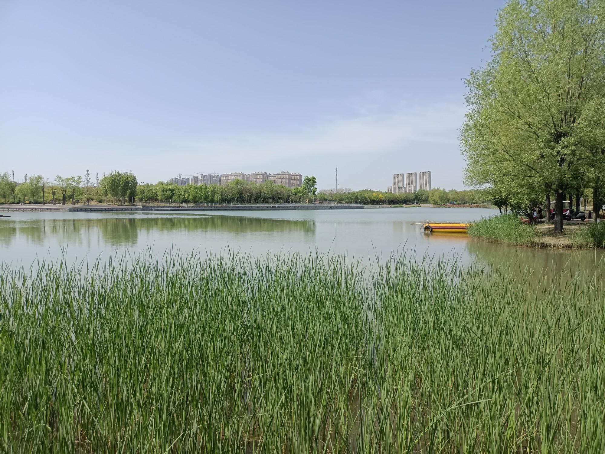 中央公园湖